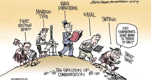 Evolúcia komunikácie