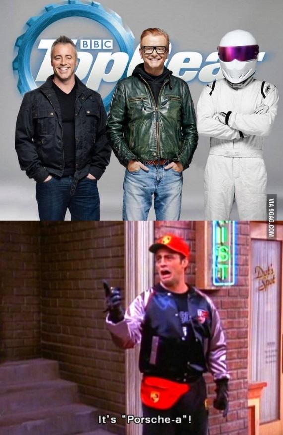 Joey bude moder�torom Top Gearu
