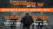 Ubisoft potvrdil otvoren� betu pre The Division, prid�va trailer ukazuj�ci frakcie