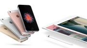 Apple dnes ohlásilo štvorpalcový iPhone SE a deväťpalcový iPad Pro