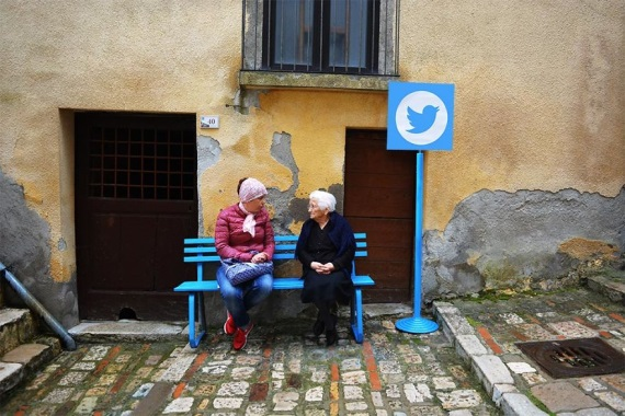 Talianska dedinka sa zmenila na Internet