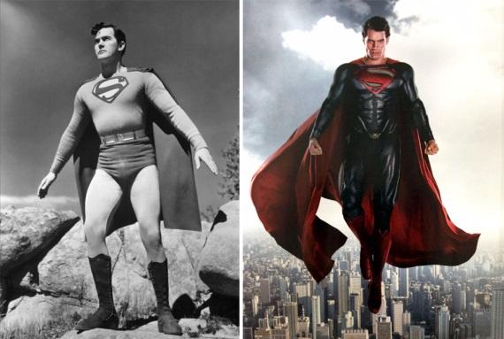 Superhrdinovia vtedy a teraz