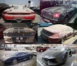 Opusten� aut� v Dubaji