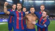 Pro Evolution Soccer 2017 ukazuje hviezdy Barcelony