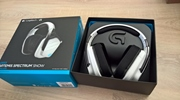 Logitech predstavil bielu verziu svojho wireless headsetu G933 Artemis Spectrum
