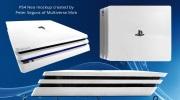 Ako bude vyzera� PS Neo? Nov� render ju ukazuje v bielej farbe