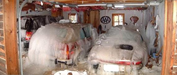 Keď ráno otvoríte garáž