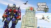 Pridajte si Transformerov Optimusa a Bumblebeeho do GTA V