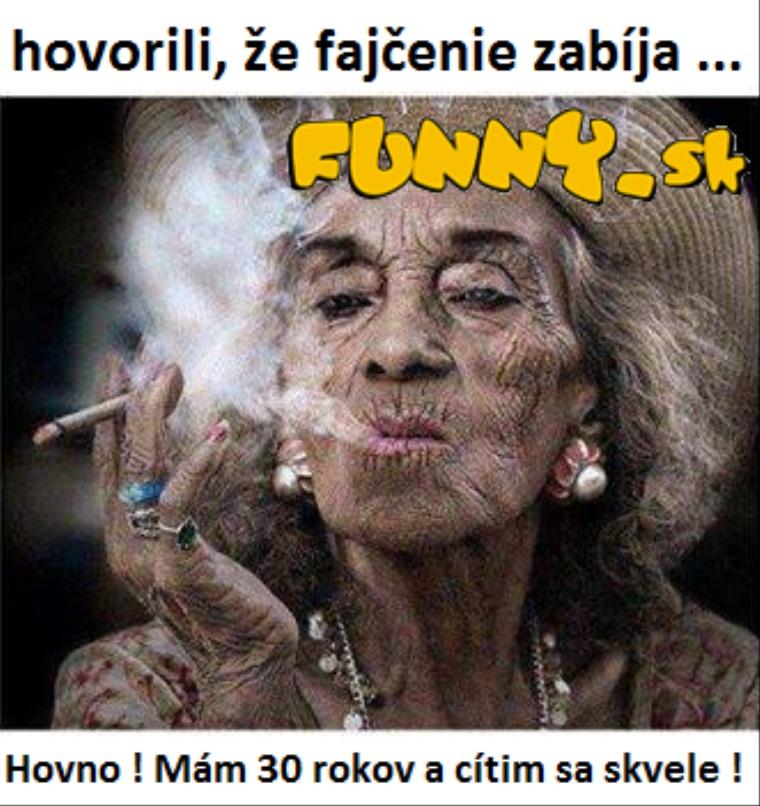 Hovorili, že fajčenie zabíja..
