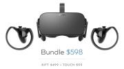 Oculus Rift zlacnelo o 200 dolárov
