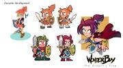 Wonder Boy: The Dragon's Trap získava novú hrateľnú hrdinku, je ňou Wonder Girl