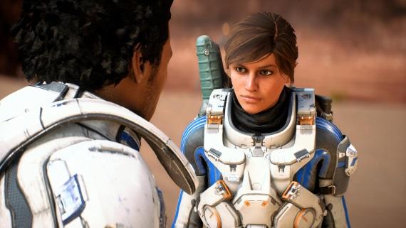 Mody pre Mass Effect Andromeda už vylepšujú nasvietenie a aj tvár hlavnej postavy