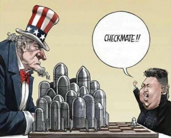 Severná kórea práve teraz