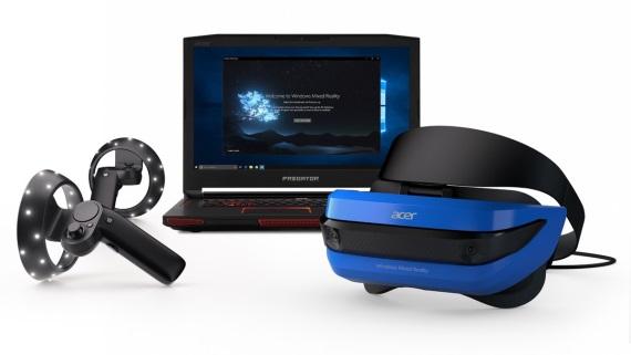 Microsoft predstavil cenovo dostupné Mixed Reality headsety, pridal aj motion ovládače