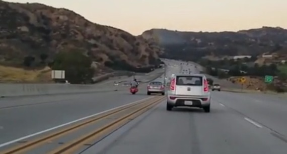 Len si tak jazdíte...