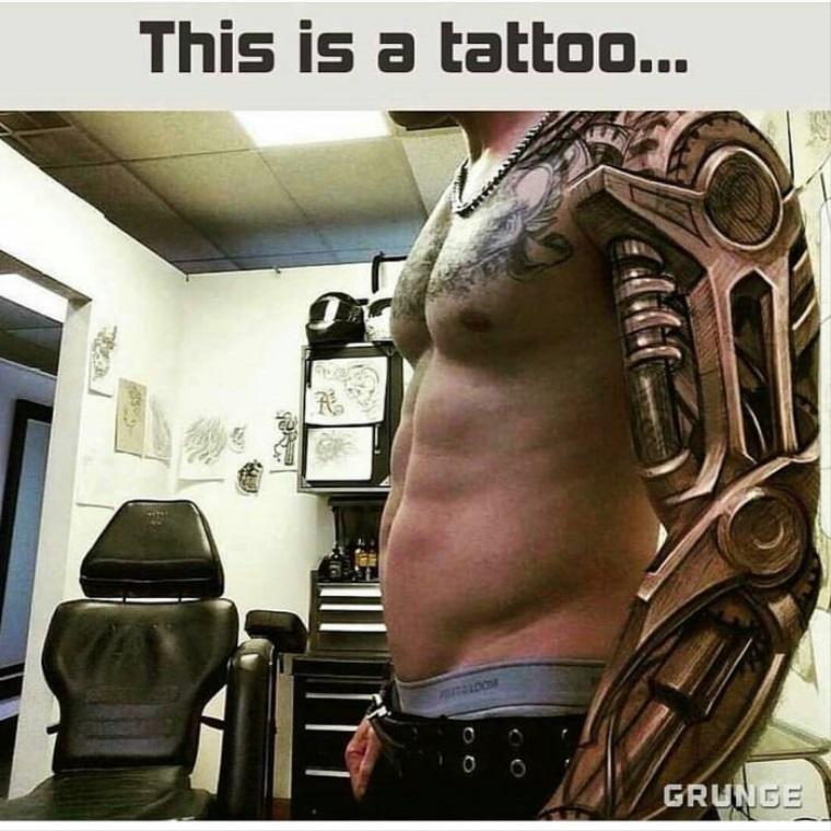 Toto je tetovanie!