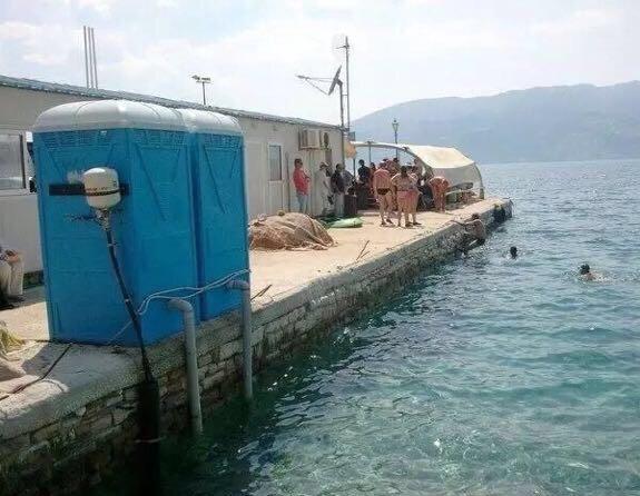 Veľmi vhodné miesto na plávanie
