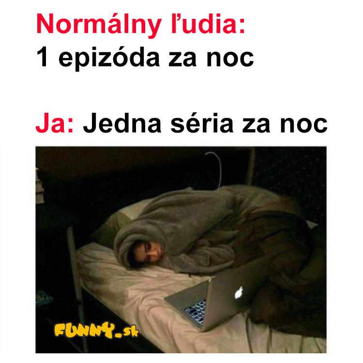 Pozeranie seriálu