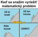 Riešenie matematiky