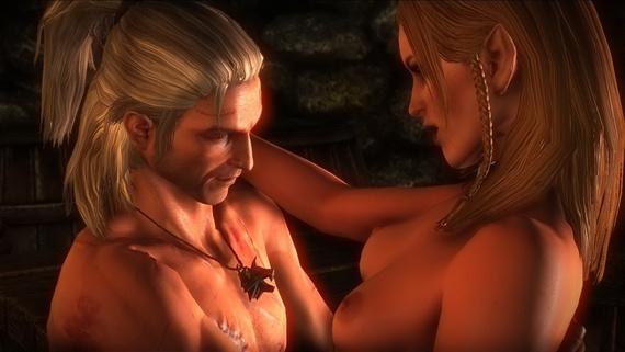 ведьмак 2 секс в игре