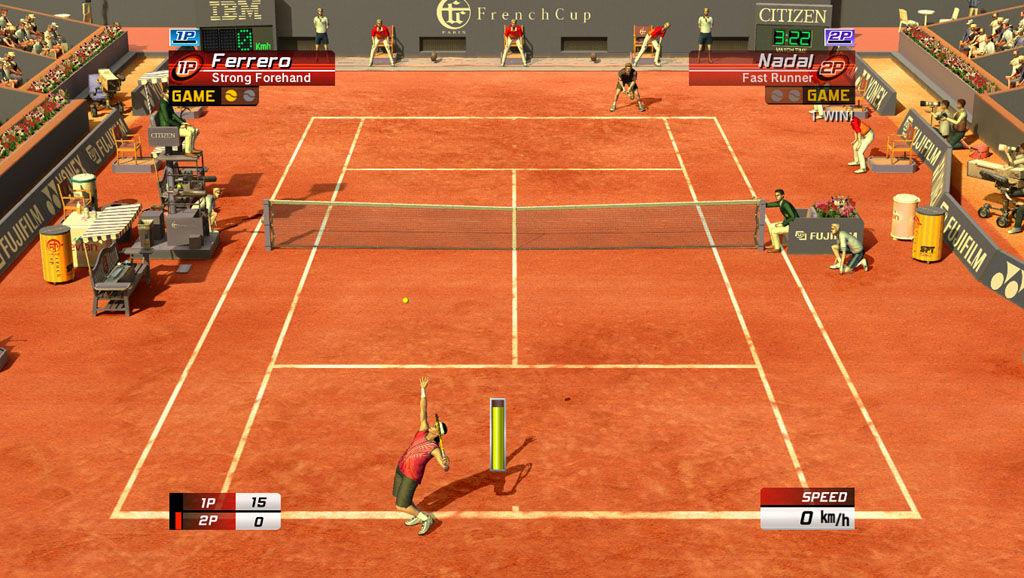 Naute sa hra tenis