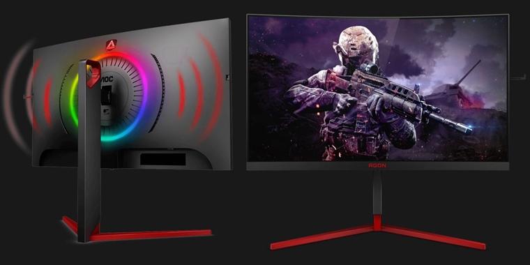 AOC AG273QCG - ultrarýchly herný monitor