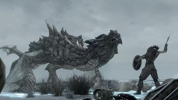 Skyrim Special Edition - gameplay