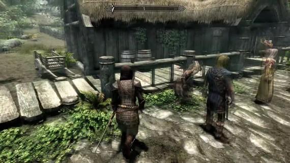 Skyrim - Together mod - gameplay