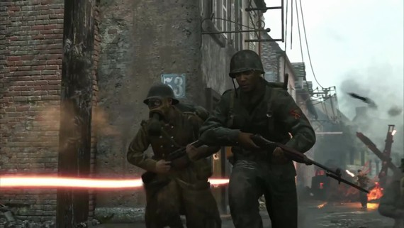Call of Duty WWII - Carentan mapa