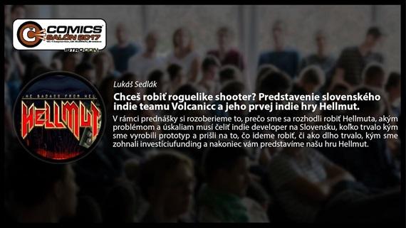 GameDev: Predstavenie slovenského indie teamu Volcanicc a ich hry Hellmut