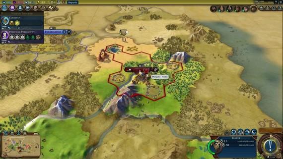 Civilization VI: Rise and Fall  - Mongolia