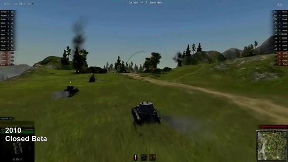 World of Tanks - evolúcia