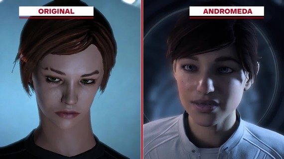 Mass Effect 1 vs Mass Effect Andromeda