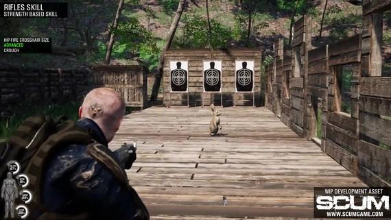 SCUM - Rifle & Sniping Skills
