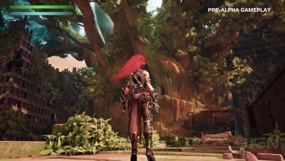 Darksiders III - gameplay