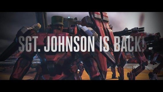 Halo Wars 2 - Sergeant Johnson DLC