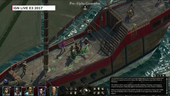Pillars of Eternity 2 - Gameplay