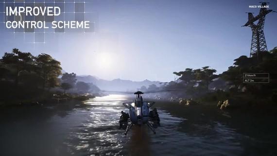 Ghost Recon Wildlands - Helicopter update