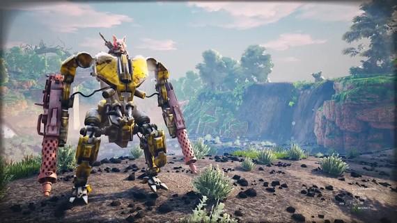 Biomutant - gameplay