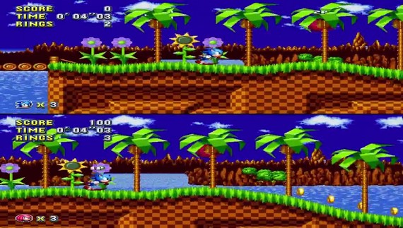 Sonic Mania - Competition mode
