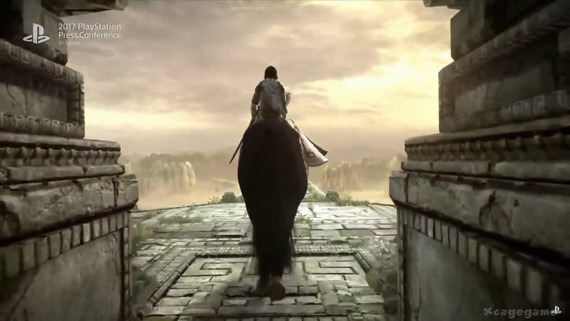 Shadow of the Colossus - PS4 TGS trailer