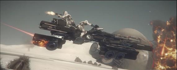 Star Citizen - Drake Dragonfly trailer