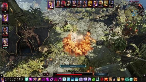 Divinity Original Sin II - combat
