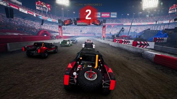 Gravel - Stadium Night gameplay