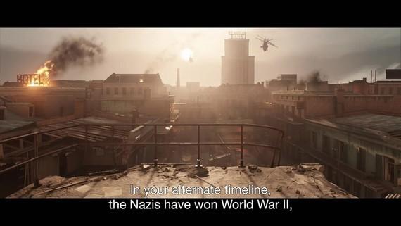 Wolfenstein II - Stop Nazis in America