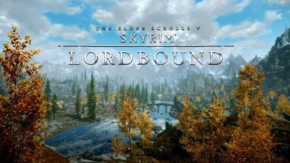 Skyrim: Lordbound mod - ukážka prostredí
