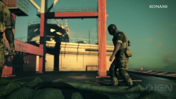 Metal Gear Survive: singleplayer gameplay