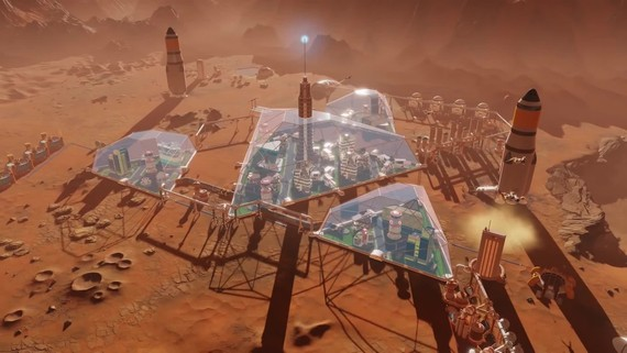 Surviving Mars: Space Race - trailer