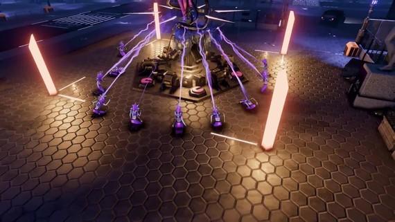 Kyberpunková RTS Re-Legion ukazuje atmosferický trailer