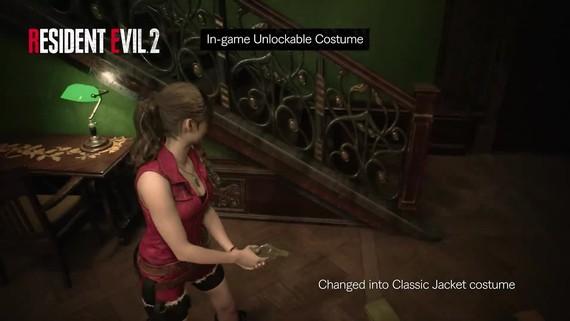 Resident Evil 2 ukazuje klasické kostýmy